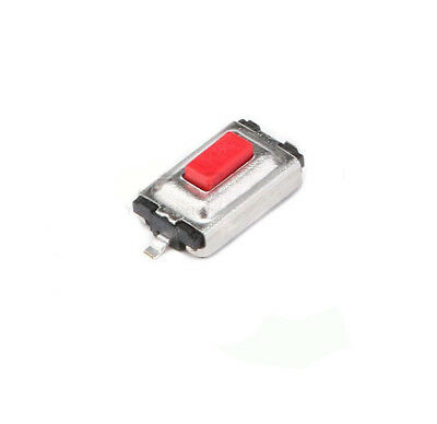 10Pcs Red Tactile Push Button Switch Momentary Tact 3x6x2.5mm 2pin SMD