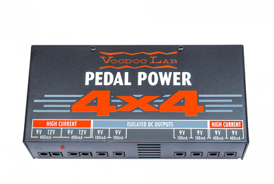 Voodoo Lab Pedal Power 4x4 Power Supply GENTLY USED