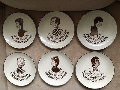 Full Set Of Meadowlands Jockey Horse Collectible Plates 1983