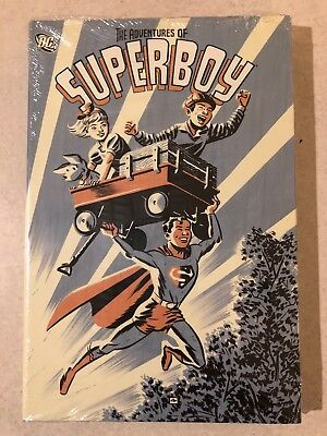 The Adventures of Superboy hardcover HC NEW SEALED DC Comics NM Superman OOP
