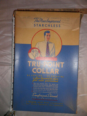 Antique Sears, Roebuck & Co Tru-Point Collar Pilgrim Shirt Box