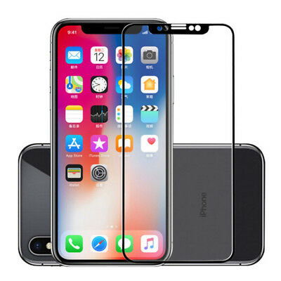 For Apple iPhone XS /XS MAX /XR Full Coverage 9H Tempered Glass Screen Protector