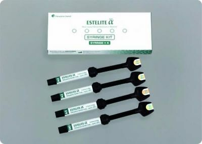 Tokuyama Dental Estelite Alpha Syringe Kit of 4 Syringes