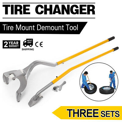 "17.5"" to 24"" inch Tire Changer Mount Demount Tool Tools Tubeless Truck Bead 3pcs"