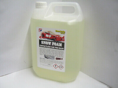 OFFER! 5 Litres Snow Foam SNOWFOAM Car Van Wash Concentrate Contactless Cleaning
