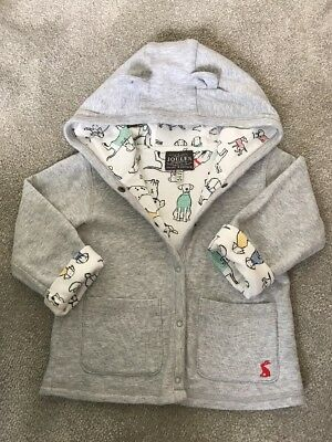 Joules Baby Jacket Reversible 18-24 Months