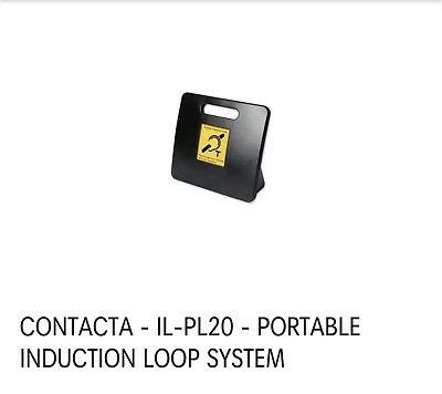Contacta IL-PL20 Portable Induction Loop System with PSU in Original Box