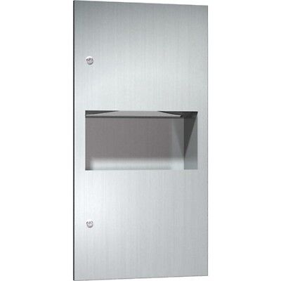 AMERICAN SPECIALITIES 64623 Stainless Steel Paper Towel Dispenser & Bin