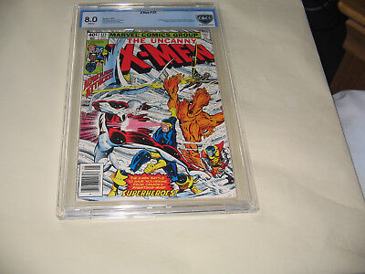 X-Men 121  CBCS  8.0 . NS Cents.  SALE TAKE 50% OFF LISTED PRICE.