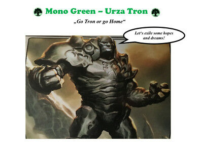 Modern Deck - Mono Green Urza Tron - Magic the Gathering