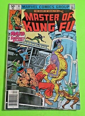 Master of Kung Fu #95 Marvel Comics Bronze Age (1980) C1923