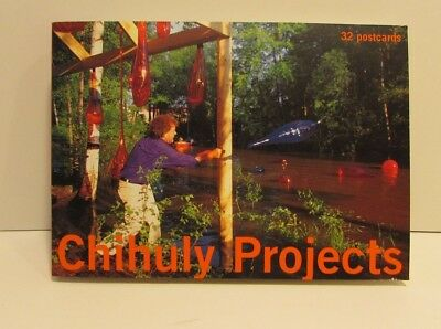Chihuly Projects Postcard Book Set Of 32 Postcards