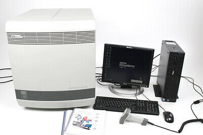 Applied Biosystems ABI 7900HT Real Time Thermo Cycler 96 Well qPCR with SDS 2.4.
