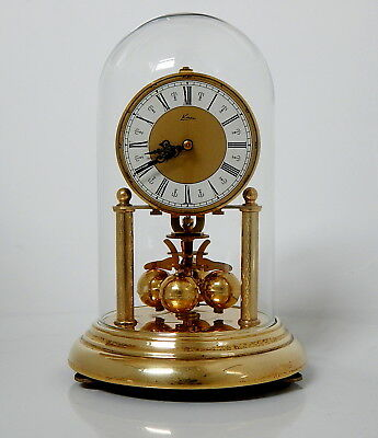 Kern 400 Day Anniversary Clock, Glass Dome, With Key, Very Clean ( For Repair )
