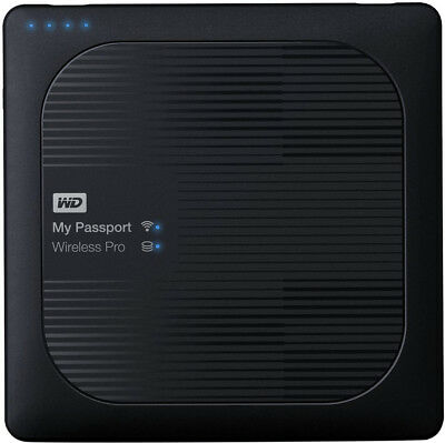 Western Digital WD My Passport Wireless Pro 3TB Festplatte USB3.0 WDBSMT0030BBK