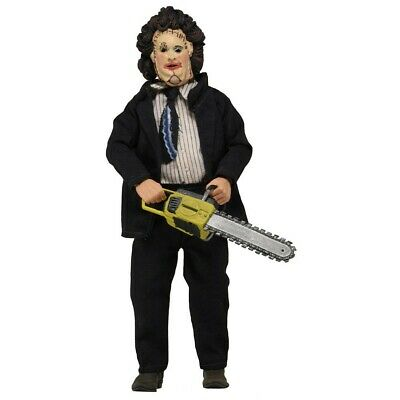 Figura Action LEATHERFACE PRETTY MASK Movie TEXAS MASSACRE 20cm NECA Retro Doll