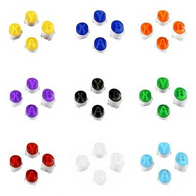 Xbox One Controller Custom Translucent Colour Replacement A B X Y Button Set Kit