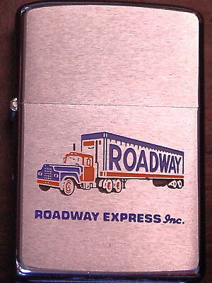 ROADWAY EXPRESS INC Trucking - Color Semi & Trailer Graphics - 1971  NOS
