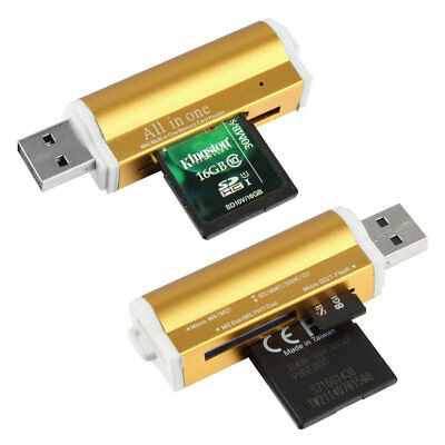 USB 2.0 All in 1 Multi Memory Card Reader for T-Flash MMC TF M2 Memory Stick SZ