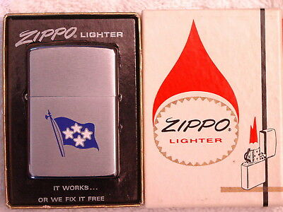 ADMIRAL - COMMANDER IN CHIEF  U.S. NAVAL FORCES EUROPE - NAVY Zippo 1971  MIB