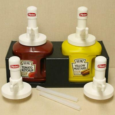 Heinz Heavy Duty Condiment Dispenser Pump For Jug #10  Ketchup And Mustard - New