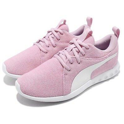 bf5dbacef1f Puma Carson 2 Knit NM Wns Winsome Orchid White Women Casual Shoes 191085-03