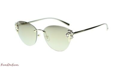 e9a98c558374a Versace Women s Sunglasses VE2196B 12527I Gold Light Brown Mirror Gold Lens  58mm
