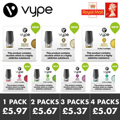 Vype ePEN 3 Pods (6mg, 12mg, 18mg) | Pack of 2 | All Flavours | Cartridge Vape