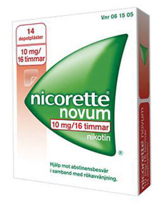 Nicorette Patch Step 3, 10 MG, 14 PATCHES
