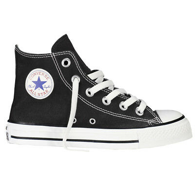 Boys, Girls Converse All Star Hi Top Trainers Shoes Canvas Pumps Size