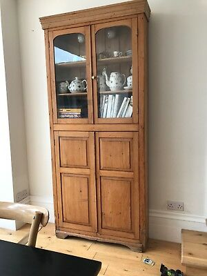 antique pine wall cabinet - lots of items similar for sale
