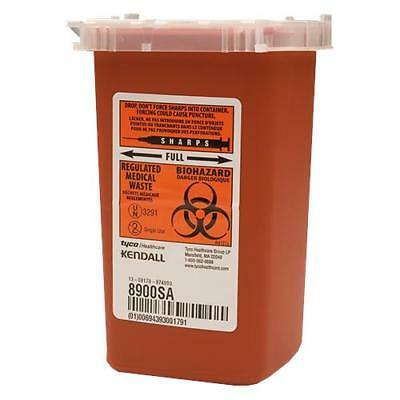1 Quart Sharps Container Biohazard Needle Disposal Tattoo Phlebotomy - 8 Pack!