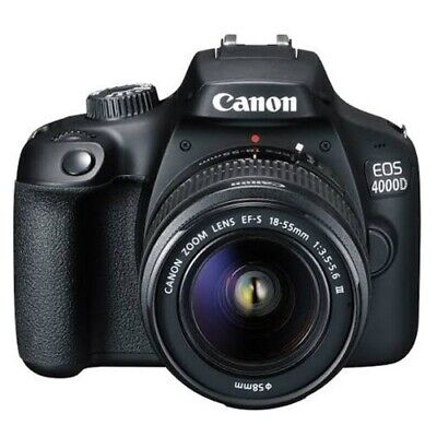 Canon Eos 4000D Kit Mit 18-55Mm Dc Iii