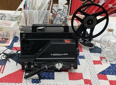Chinon 5100 Super-8 Sound Movie Projector, appears unused but  listed for parts/
