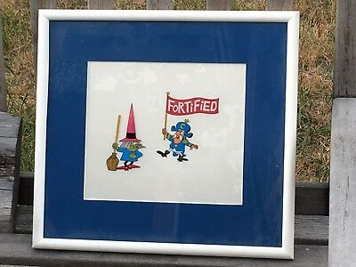 RARE Cap'n Crunch Cereal Commercial Animation Cel JAY WARD