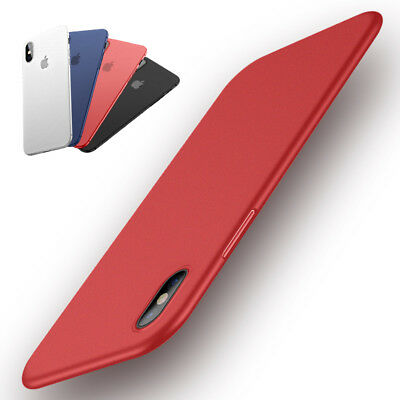 Slim Housse Pour Apple iPhone X XR XS MAX Protection Coque Etui Back Case Cover