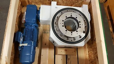 WEISS CR400E-80 HEAVY DUTY ROTARY INDEXING TABLE New in Box