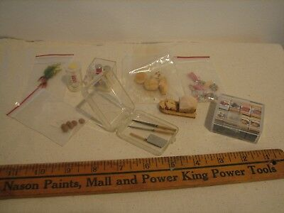 WONDERFUL Group of Vintage DOLLHOUSE Miniature CANDY and FOODS