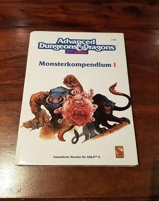 Monsterkompendium 1 - Advanced Dungeons&Dragons 2nd Edition AD&D