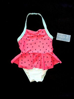 Old Navy girls one piece watermelon bathing suit 2T NWT