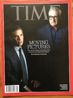 Rare TIME Magazine 2017 - MOVING PICTURES, Storytelling, Unforgettable Films