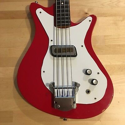 1965 Meazzi Hollywood Diamond Bass Red
