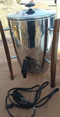 VTG Regal Mid Century Coffee Maker Atomic Age 10 to 30 Cup Danish Modern