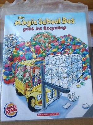 Burger King * THE MAGIC SCHOOL BUS GEHT INS RECYCLING * Happy Kids Meal * Heft