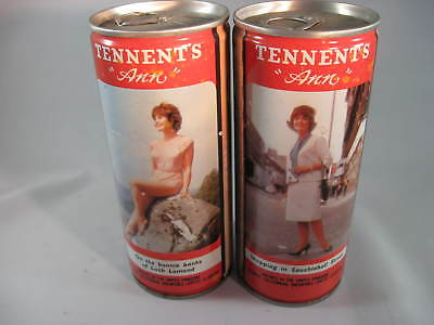 2 Tennent's ANN Beer Cans - 440ml C/S- Sweet Stout- On Bonnie Banks / Shopping