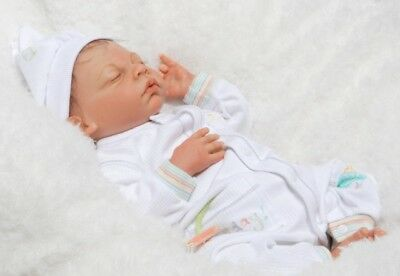 Tommy asleep reborn doll kit by Margaret Moussa.