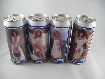 4 Tennent's Beer Cans - 440ml - 11th Lovelies set -1987-1988 - Tapered Neck set