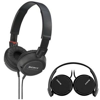 Sony MDRZX110/BLK ZX Series Stereo Headphones MDRZX110 MDR-ZX110 Black