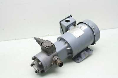 Nippon TOP 2MY 200-212HWM 3-Phase Induction Motor Trochoid Oil Pump / 4 Poles