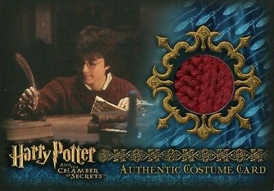 Harry Potter & The Chamber Of Secrets, Authentic Costume Card C12 #402/540